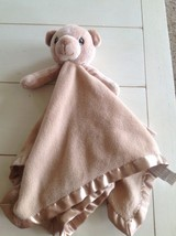 Precious Moments Tan Teddy Bear Lovey Security Blanket Lovie Blankie - $23.97 CAD