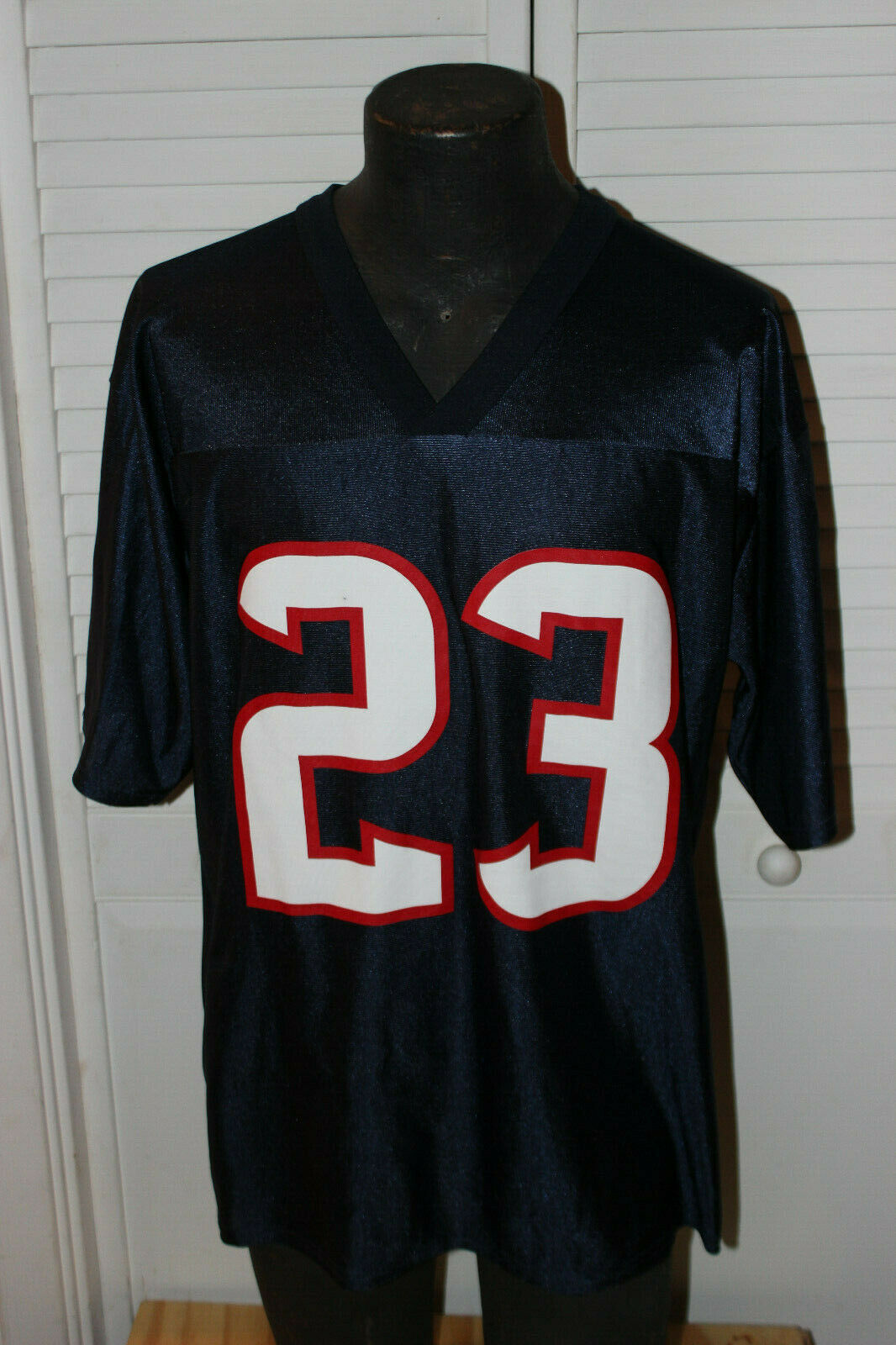 Primary image for NFL TEAM APPAREL HOUSTON TEXANS #23 ARIAN FOSTER JERSEY SIZE MENS LARGE