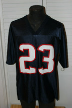 NFL TEAM APPAREL HOUSTON TEXANS #23 ARIAN FOSTER JERSEY SIZE MENS LARGE - $19.99