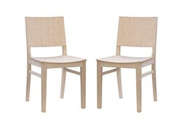 Linon Unfinished Set of 2 Benton Side Chair - $999.99
