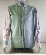 Vineyard Vines Pastel Colorblock Slim Fit Tucker Party Shirt Men's Size ... - $48.02