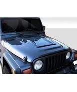 97-06 Jeep Wrangler w/ Highline Heat Reduction Duraflex Body Kit- Hood!!... - $539.00