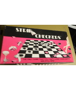 Strip Checkers Board Game - $16.00