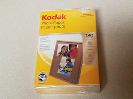 "Kodak Photo Paper 180 Sheets 4"" x 6"" Instant Dry Gloss Brillant (New/Sealed) - $9.85"