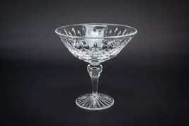 Stuart Glass 1960s BOWL Table Retro Clear Diamo... - $39.90