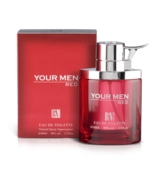 BN Eau de Toilette YOUR MEN RED Perfume Premium Quality 3.3 oz 100ml F14 - £30.83 GBP