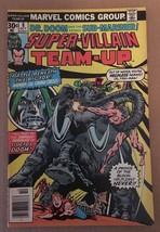 Super Villain Team Up #8 Marvel Comic Book 1976 FN+ DR DOOM & Sub-Mariner - $5.39