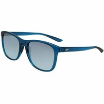 New Nike EV1199-404 PASSAGE Blue Force Sunglasses with Silver Mirror Lenses - $79.15