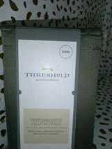 King Threshold 400 TC Performance Pillowcase Set River Birch  sealed new image 2