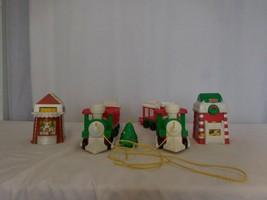 Fisher Price Little People Musical Christmas Train + Christmas Tree  +  Christma - $67.34