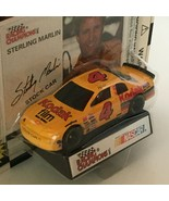 Racing Champions Sterling Marlin Nascar Stock Car #4 Toy '95 Display Sta... - $3.00