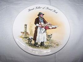 Bradford Exchange Wedgwood Street Seller of Fried Fish John Finnie Stree... - $31.84