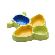 Kids Baby Creative Divided Plates/Feeding Utensils/Tableware Sets-05 - $35.27