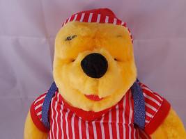 "Mattel Winnie the Pooh Plush Doll in Pajamas 14"" 1998 Sleepover Stuffed ... - $7.95"