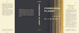 Stuart Forbidden Planet Facsimile Polvere Copertura per la Prima Edizion... - $14.67