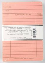 """Designworks Ink 2 Cloth Bound Personal 4"""" x 6"""" Mint/Blush Lined Journal Notebook image 3"""