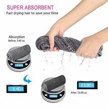 Hair Towel Wrap Turban Microfiber Hair Drying Towels, Quick Magic Hair Dry Hat C image 4