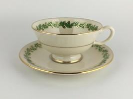 Lenox Shenandoah Green cup & saucer  - $25.00
