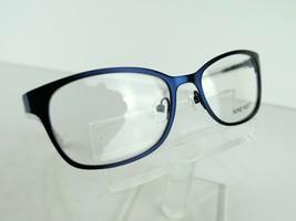 Nine West NW 1046 (434) Satin Navy 50 x 16 135 mm Eyeglass Frames - $64.30