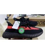 ADIDAS YEZZY BOOST 350v2 Black Red - $140.00