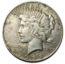 1928 Peace Silver Dollar Coin - Lot # MZ 2739