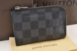 Louis Vuitton Damier Color Grafite Porte Monnaie Moneta Case N61237 IV Auth 3873 - $291.03