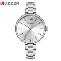 CURREN 9017 New Women Watches Luxury Brand Watch Rose Gold Women Quartz Clock Cr - $31.45
