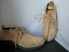 MERRELL - Men's Camel Jungle Stitch Casual Laced Suede Shoes - SIZE 10 - $29.95