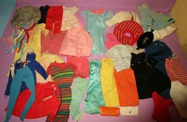 Barbie Vintage 1960s Original Fashion Clothes Pak Sweater PJs Knit Dress Lot - $225.00