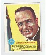 Popsicle Space Card #49 ASTRONAUT CARPENTER  - $7.61