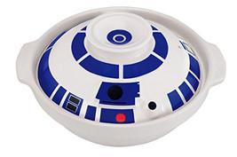 STAR WARS R2-D2 Ramen bowl Earthen pot Donabe noodle Sukiyaki Nabe Ichib... - $56.43