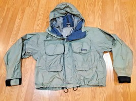 Patagonia Deep Wading Jacket Fly Fishing Style 81795 Men's  Green Sz M - $267.29