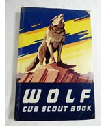Vintage 1954-1964 Boy Scouts Cub Scout Wolf Cub Scout Book 1964 Printing  - $25.74