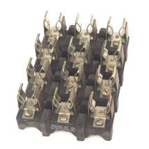 LOT OF 4 ALLEN BRADLEY 1491-N263 FUSE BLOCKS 31-60AMP, 600V, 3POLE, 1491N263