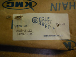 SuperCycle 420 / 110L KMC Solid Roller Chain 255-2122 New image 3