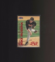 1999 Fleer Tradition Warning Track #154W Mike Mussina Baltimore Orioles - $1.90