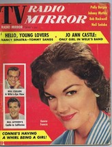 ORIGINAL Vintage June 1960 TV Radio Mirror Magazine Connie Francis Bill ... - $23.19