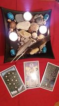 Raziel Tarot reading with THREE cards make best possible choice.  - $13.99