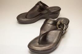 Cole Haan US 7.5 Bronze Thong Sandals Women's - $52.00