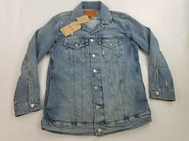 new LUCKY BRAND women jean jacket Tomboy Trucker 7WP10483 blue sz S $99 - $39.59