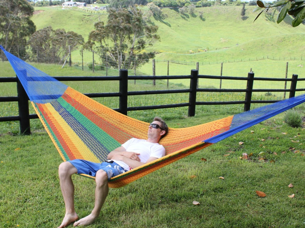 Double Hammock Mexican - Authentic Hand-woven - Free Shipping - $80.00