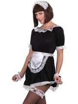 FRENCH MAID ACCESSORY SET, AROUND THE WORLD FANCY DRESS, SEXY, ONE SIZE,... - $6.24