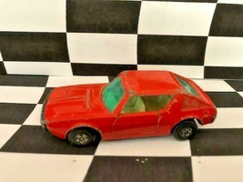 Matchbox Superfast #62 Renault 17 TL Orange No Stripe England 1974 - $2.72
