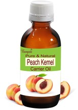 Peach Kernel Oil- Pure & Natural Carrier Oil- 50ml Prunus Persica by Bangota - $12.87