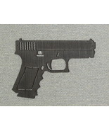 "Large 16"" Laser Cut Wood Hand Gun Wall Art Decor - $35.00"