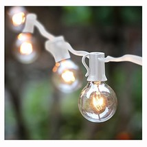 100Foot G40 Globe String Lights with Bulbs Outdoor Market Lights for Ind... - €61,91 EUR