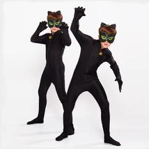 Hot Carnival Clothing Cat Noir Cosplay Sets Lady Halloween Christmas Par... - $58.30