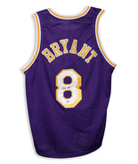 Kobe Bryant Los Angeles Lakers Autographed Purple Jersey COA from PSA/DNA - $494.00