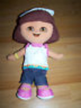"13"" Plush Stuffed Chef Dora The Explorer Rag Doll Fisher Price 2005 Mattel EUC - $15.00"
