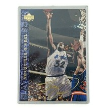 Shaquille O'Neal Shaq 1994-95 Upper Deck Player Quote Book #49 Gold Auto Magic  - $48.33